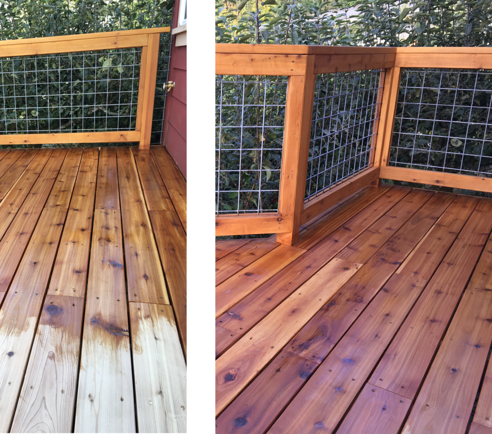 Deck Staining and Refinishing -
