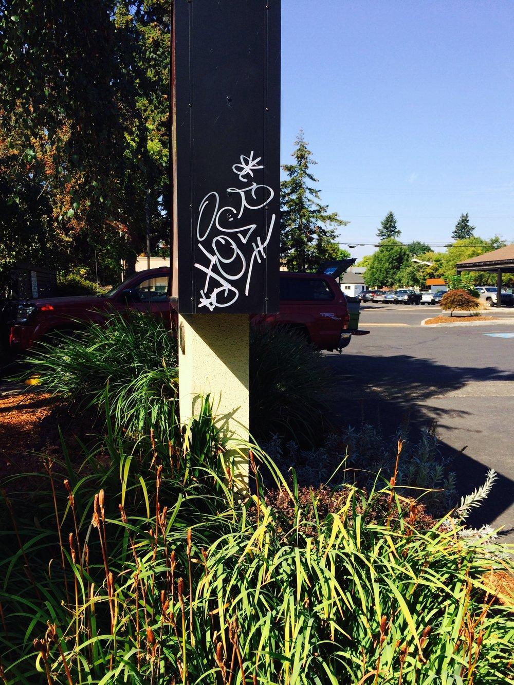 Graffiti Removal -