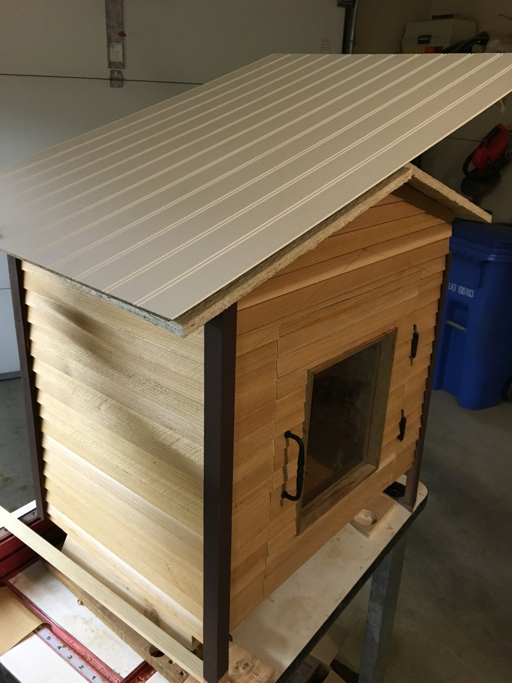 Custom Little Lending Library - Design and Construction