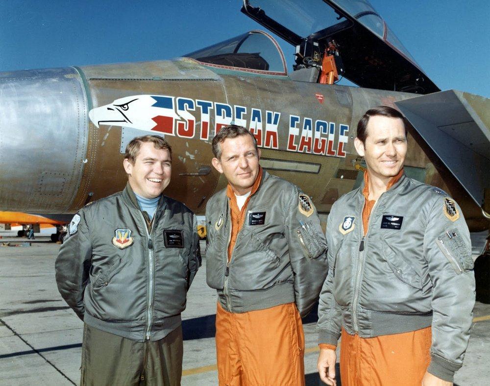 F-15 Streak Eagle Pilots
