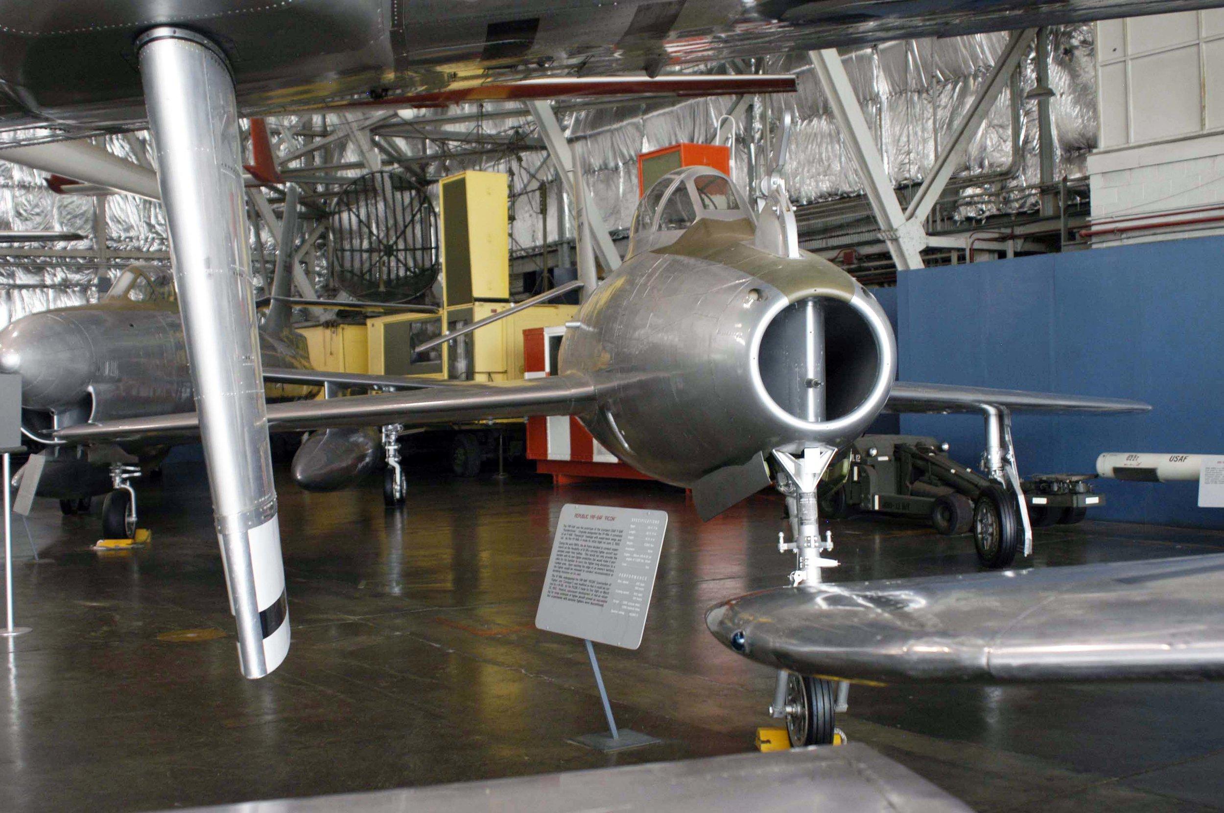 YF-96A YRF-84F FICON USAF Museum