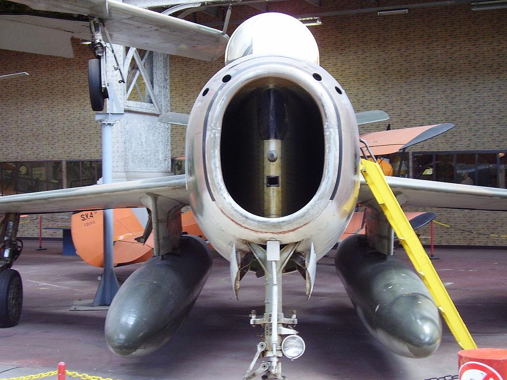 F-84F intake