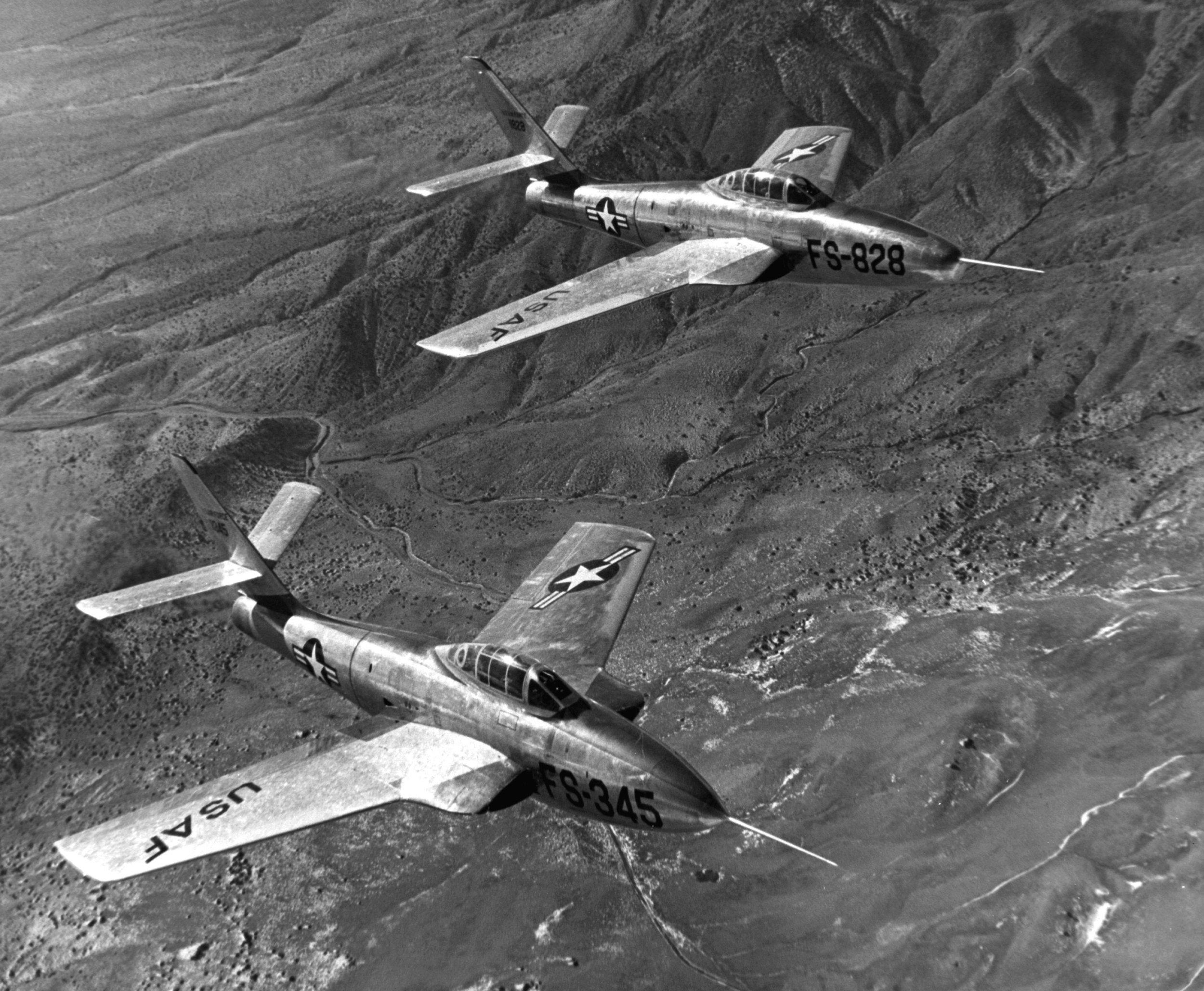 RF-84F Prototypes