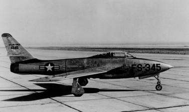 YF-84F Republic