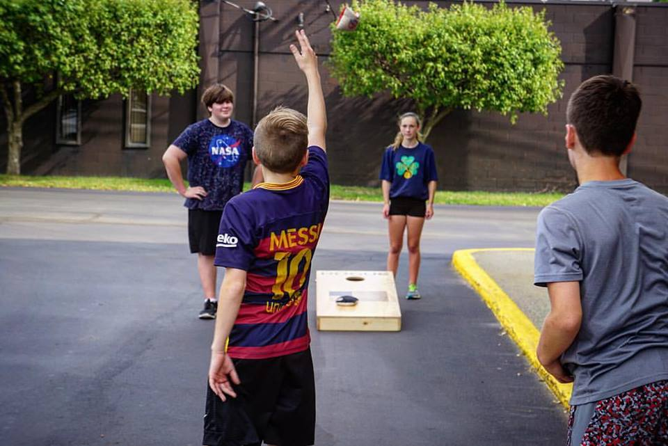 Work hard, play hard! Our Junior Varsity class will play a game to keep things fun!