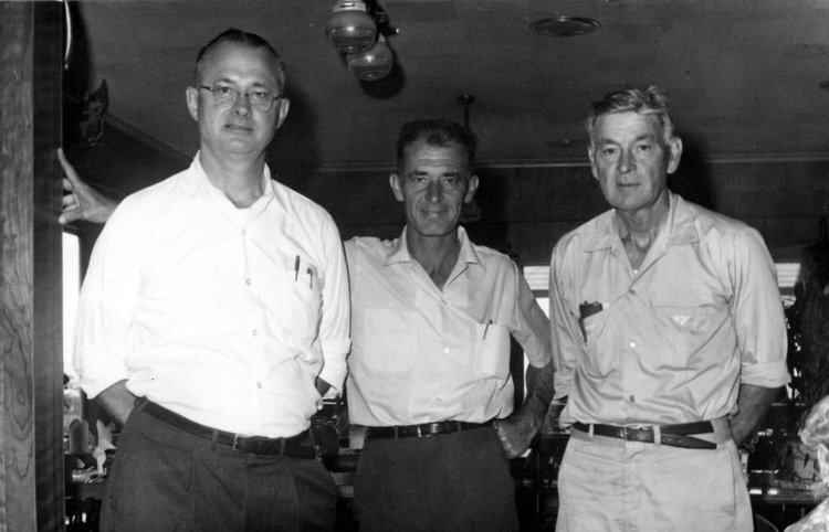 Copy of The Lieblein brothers, Herman, Herb and William Sr. (l. to r. above), opened Port of Egypt in 1946.