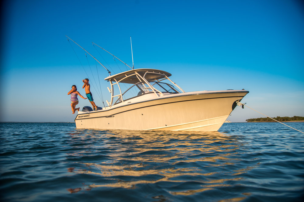 GRADY-WHITE BOATS     - We are proud to be the world's oldest Grady dealer and only 2018 Admiral's Circle member in New York.   View Grady models here.