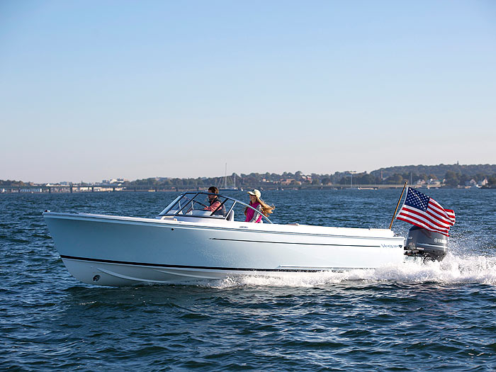 "VANQUISH BOATS     - Handcrafted in Newport, Rhode Island, the ""New American Classic"" blends beautiful styling and a remarkably smooth ride.   Discover Vanquish Boats."