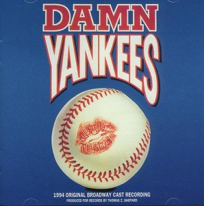 "Damn Yankees 1994 Original Cast Recording - The Broadway revival of ""Damn Yankees"" opened at the Marquis Theatre on March 3, 1994 and ran for 718 performances and 18 previews. Featured were Bebe Neuwirth as Lola, Victor Garber as Mr. Applegate, and Vicki Lewis as Gloria Thorpe.  The revival cast recording made by Mercury (and now on the Decca Broadway label) was released on May 17, 1994.  Vicki Sings ""Shoeless Joe From Hannibal Mo"" in a performance immortalized on the 1994 Tony Award Broadcast."