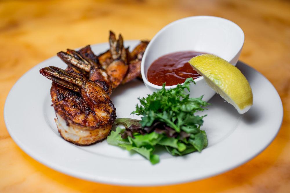 Grilled Jumbo Cajun Shrimp