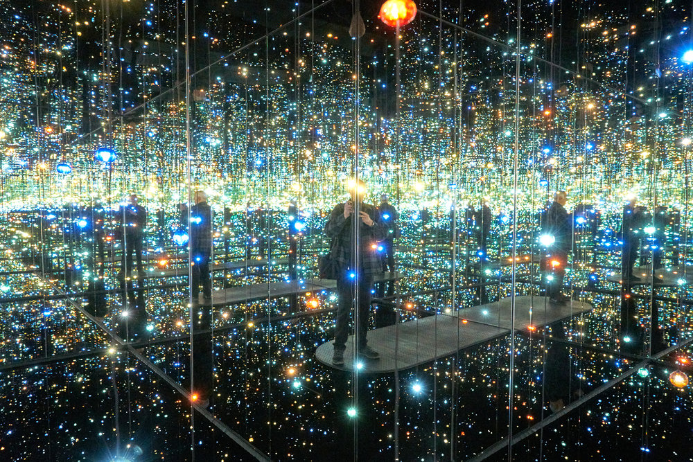 Infinity Room at The Broad in LA