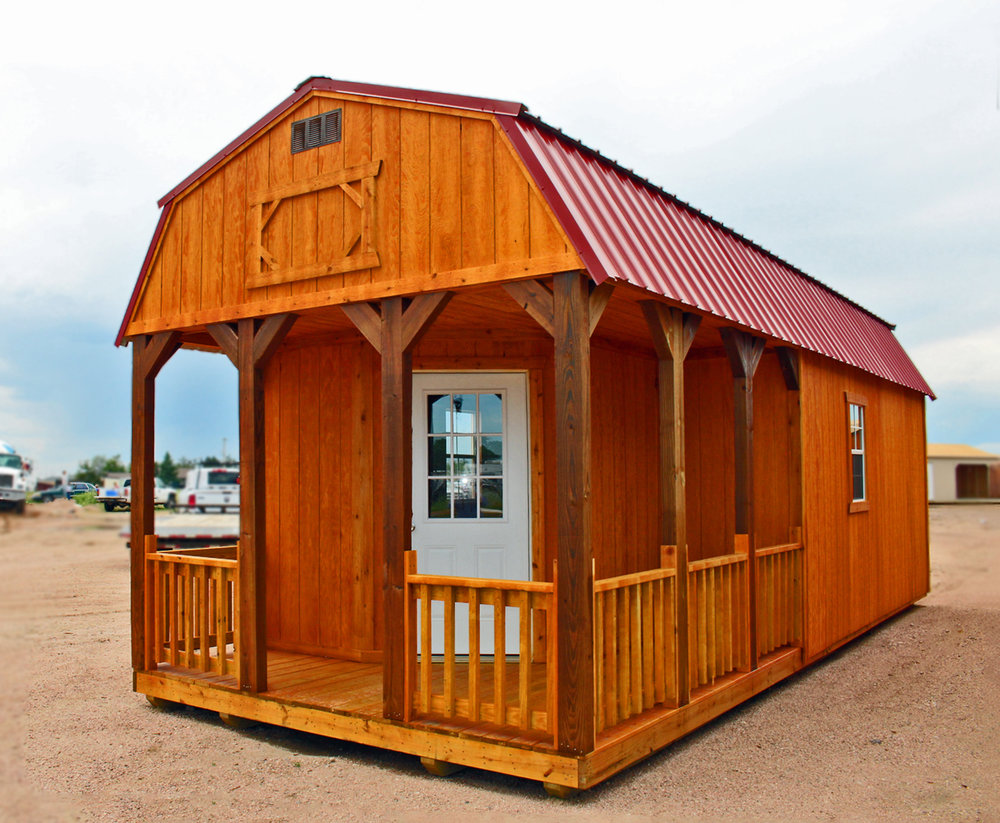 Deluxe Lofted Barn Cabin - Vegas Sheds