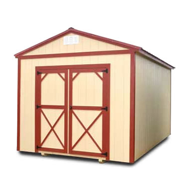 Painted Utility Shed - Vegas Sheds