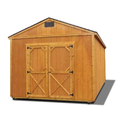 Stained Utility Shed - Vegas Sheds