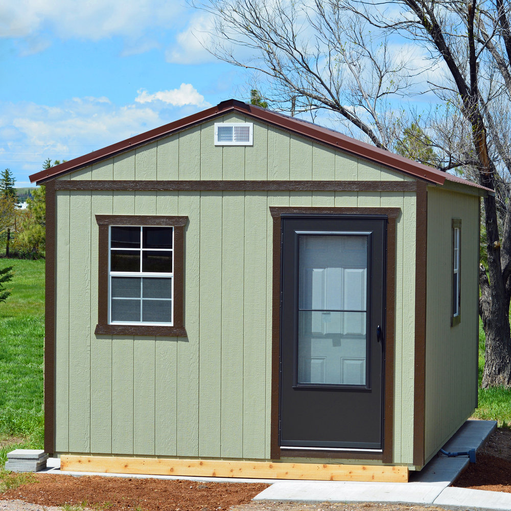 sheds utility built wood storage shed locally serviced