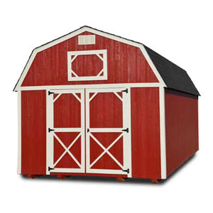 Painted Lofted Barn - Vegas Sheds