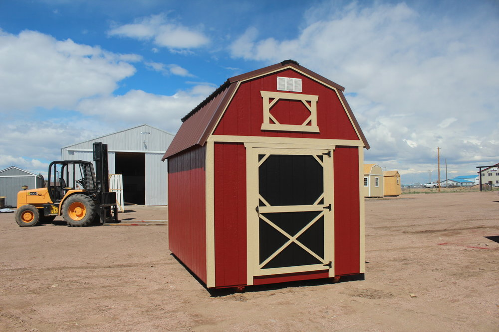 Tri Color Lofted Barn - Vegas Sheds