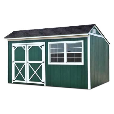 Painted Cottage Shed, Painted Garden Shed - Vegas Sheds