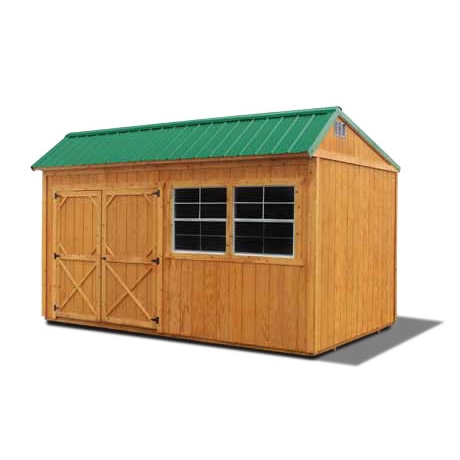 Stained Cottage Shed, Stained Garden Shed - Vegas Sheds