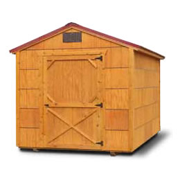 Stained Economy Series Shed - Affordable - Cheap - Vegas Sheds
