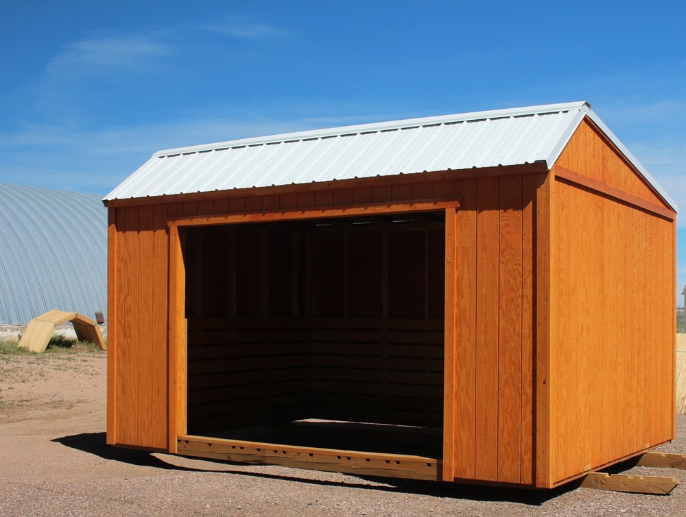 Horse Barn with no tack room - Vegas Sheds