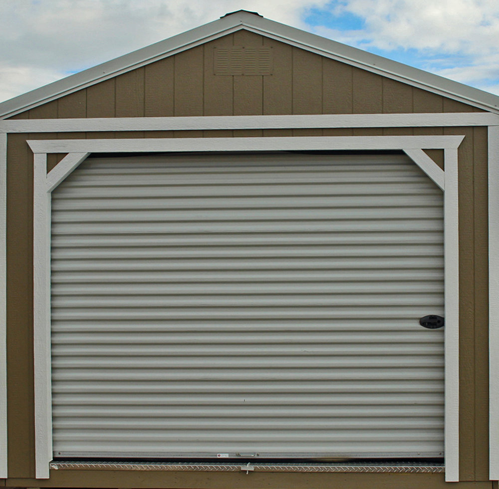 9' Roll-Up Garage Door