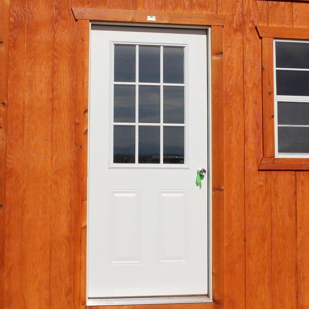 9-Lite Door
