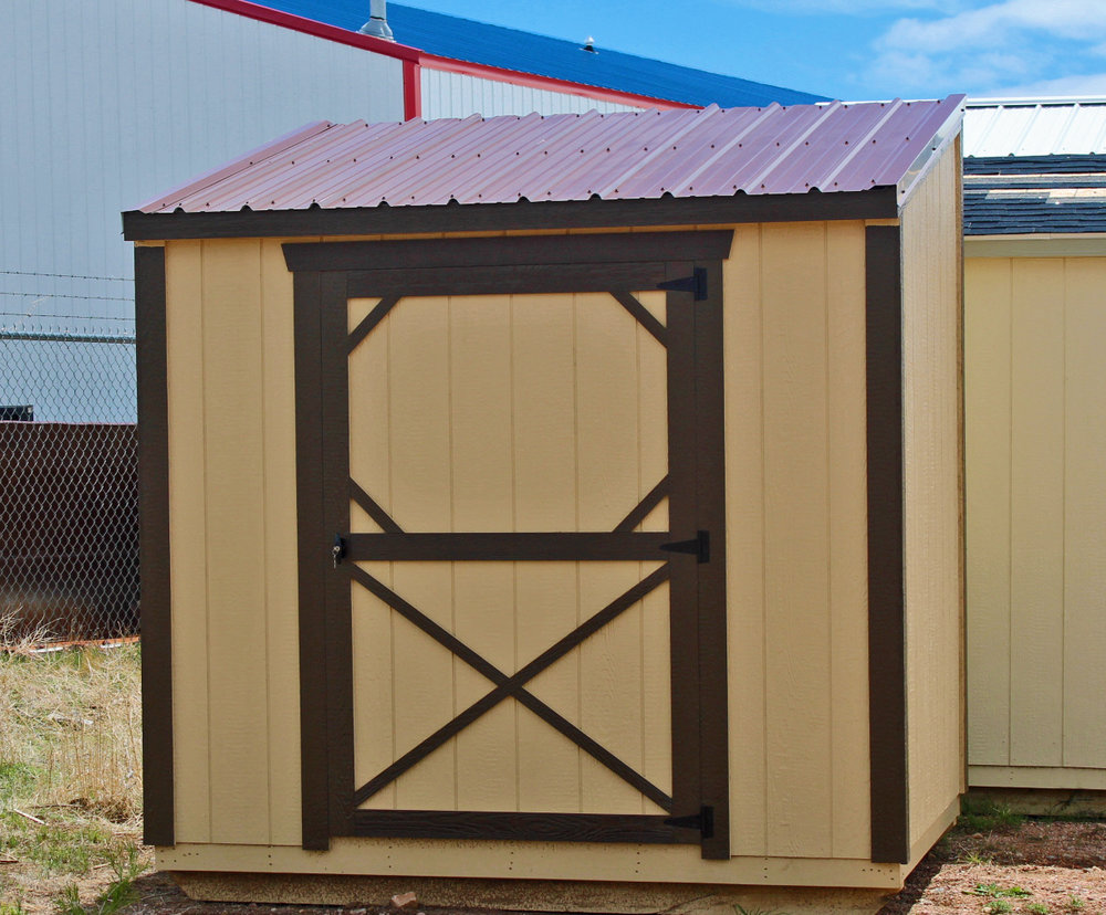 Painted Metro Shed - Vegas Sheds