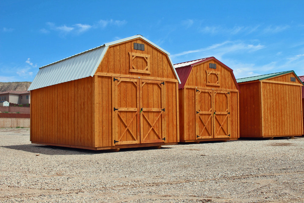 Stained Fir wood Buildings - Vegas Sheds