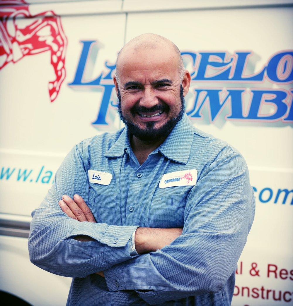 Luis Leyva - Plumbing Technician  Text.