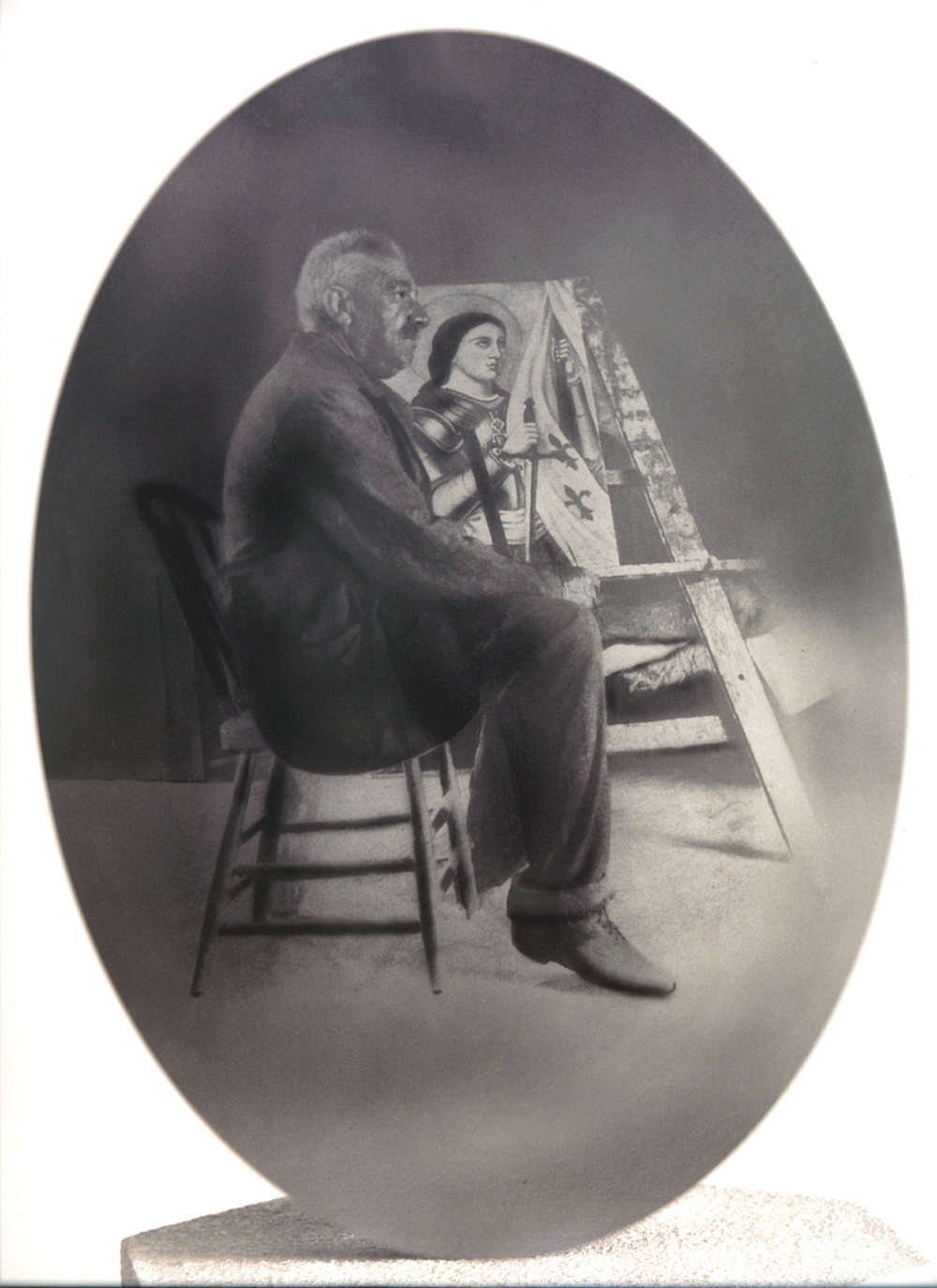 Self Portrait - Undated, Trousset Family Collection
