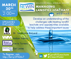 Presenters: Torrens - Brown & Caldwell Menon - Waste Management Bolyard - EREF Jones - Heartland