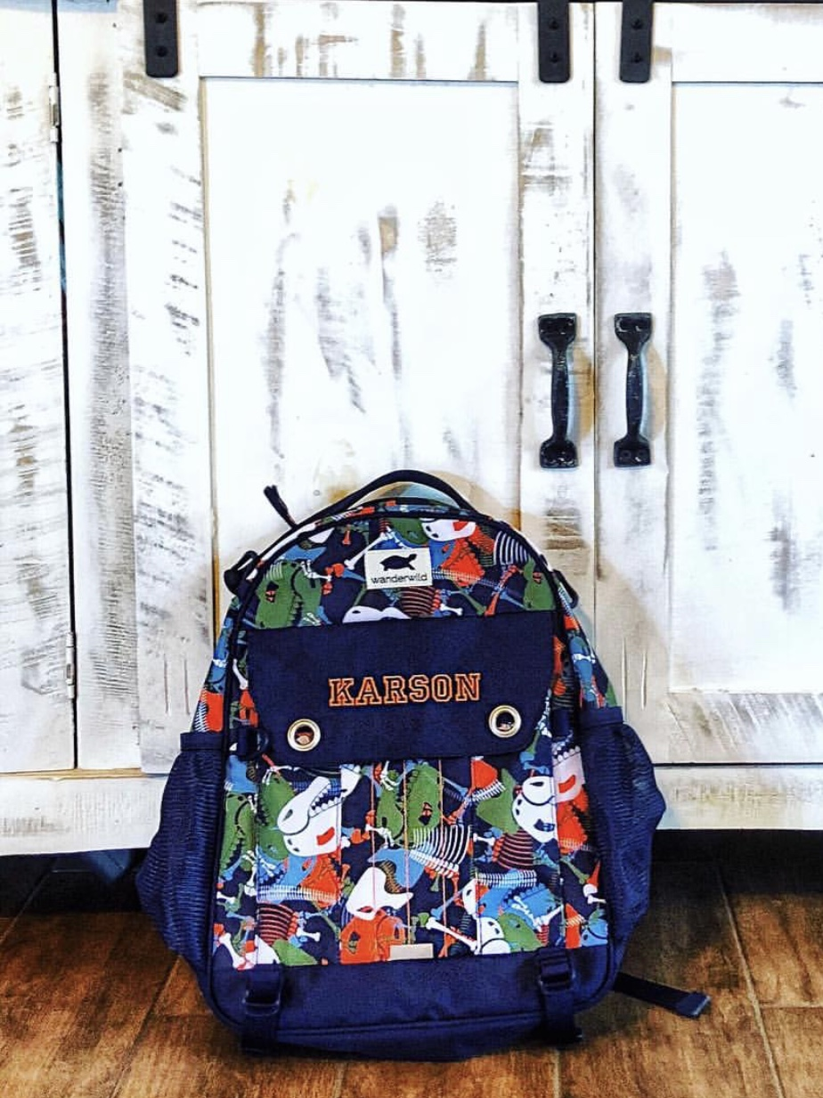 PRODUCT: Wanderwild Backpack - Read to learn about this locally owned backpack company and all the features on these bags!Click HERE for full review.