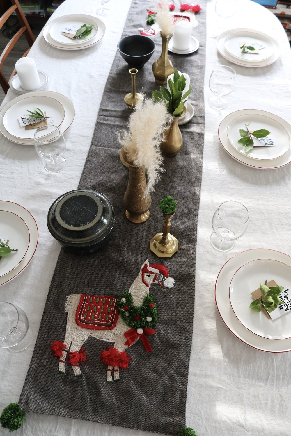 The Table. - Welcoming friends & family to your home this holiday season? Let me help you style a beautiful table to set the scene for the laughter, stories and clinking of glasses.These tips are all about reducing the waste contributed by one use items and making your friends & family feel welcome and special while in your home. Let's get started.Hint: Cheat Sheet download available at end of this blog. All this info condensed for quick reference when you are treasure hunting for your table!
