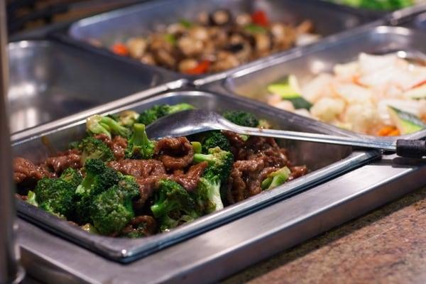 yummy buffet mongolian beef