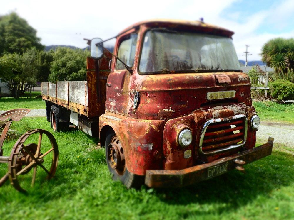Morris diesel tip truck P.O.A.