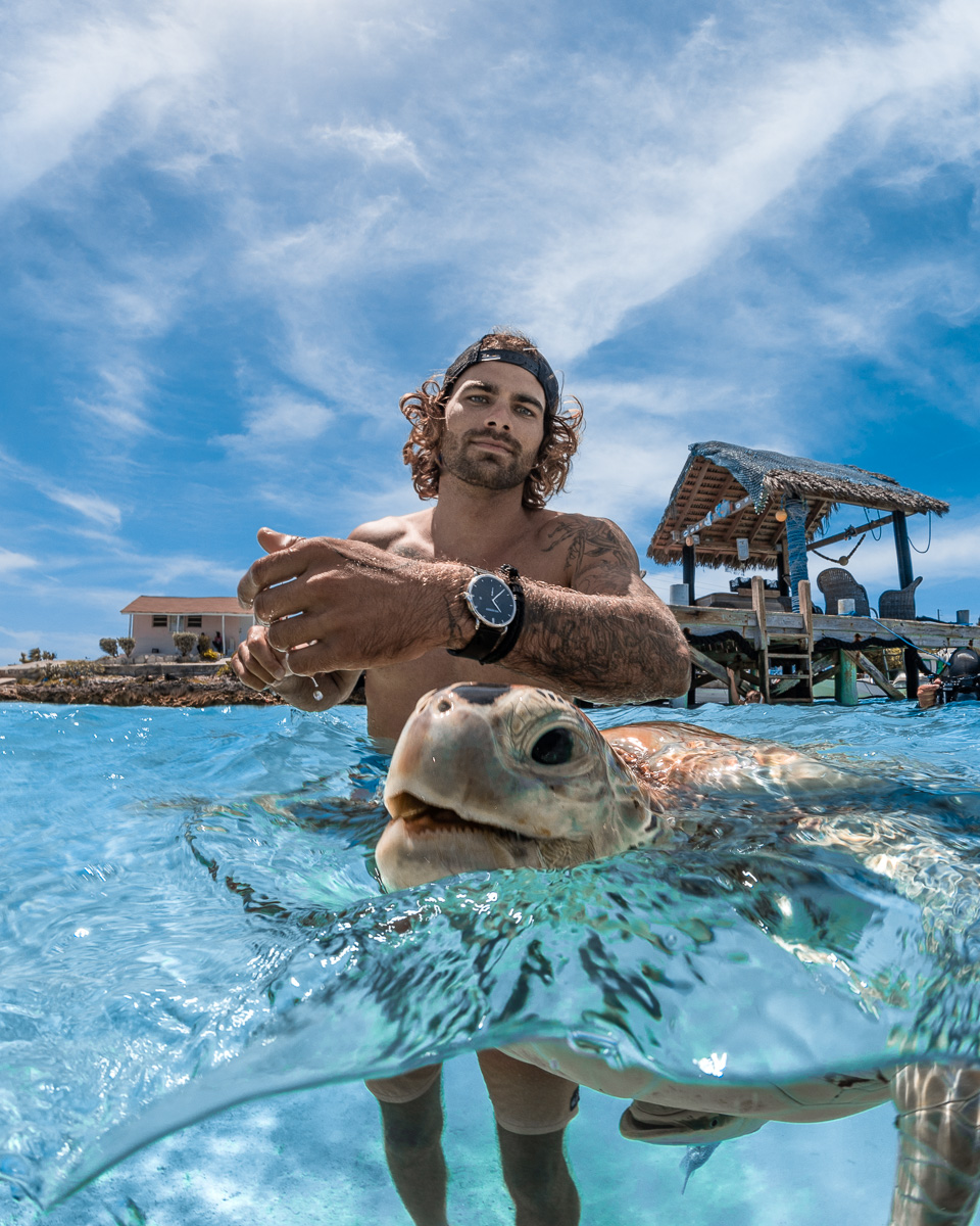 Swimming Turtles in Exuma The Bahamas Watch ad for Paul Hewitt by (c) André Musgrove_.jpg