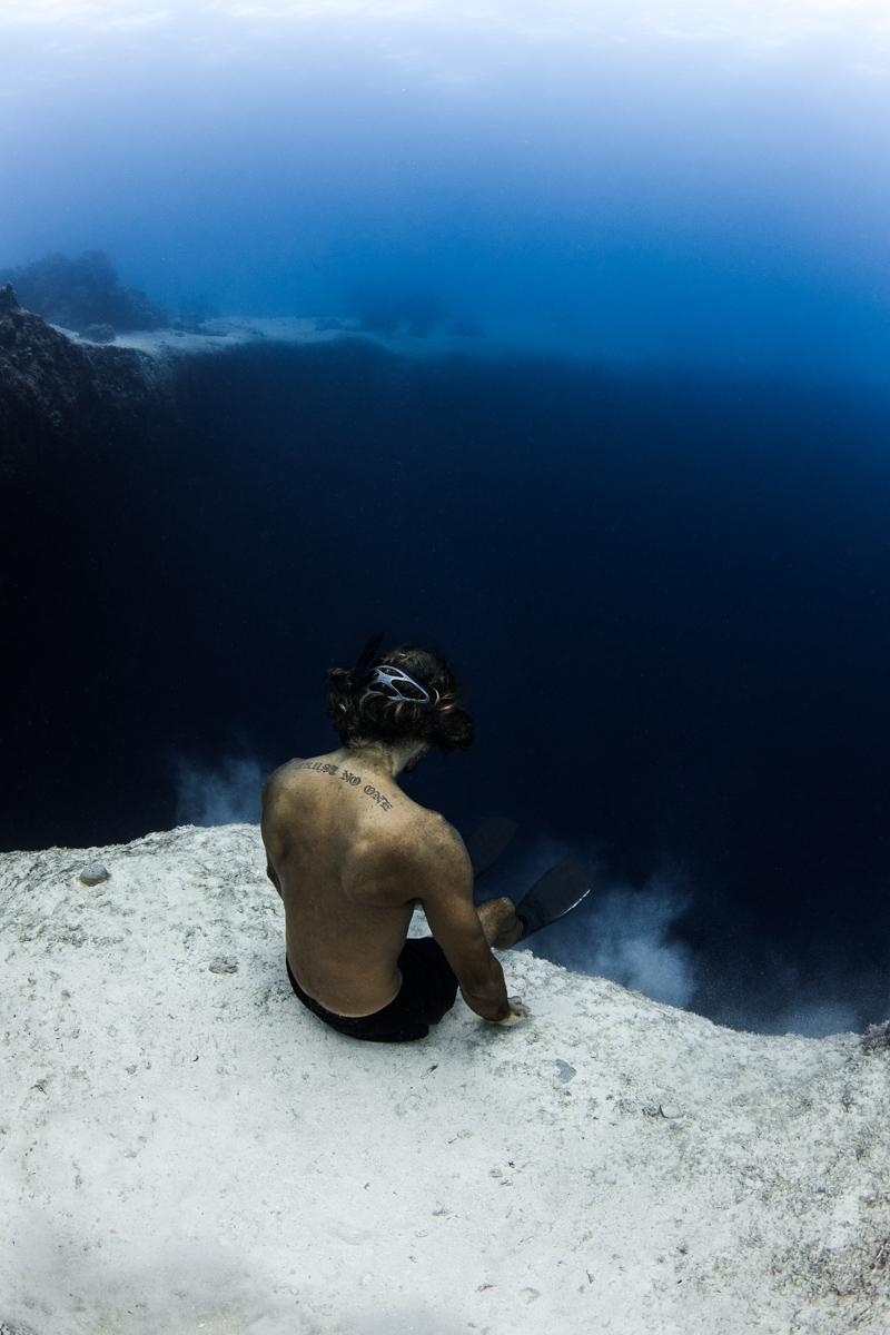 Lost Blue Hole Bahamas