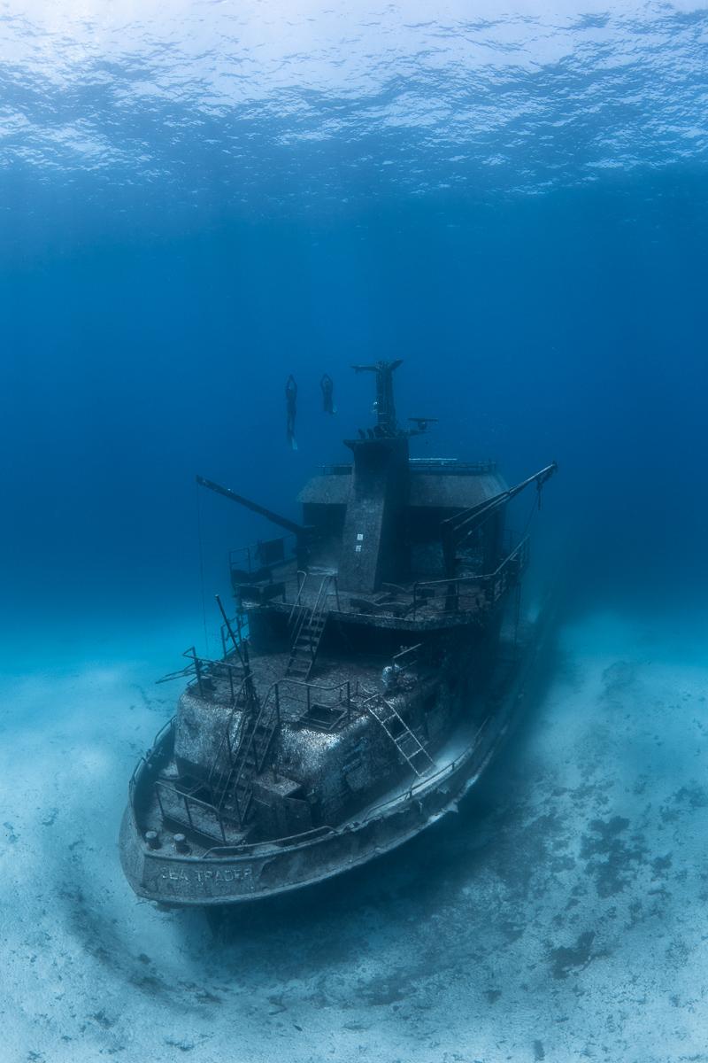 Sea Trader Shipwreck Bahamas by André Musgrove .jpg