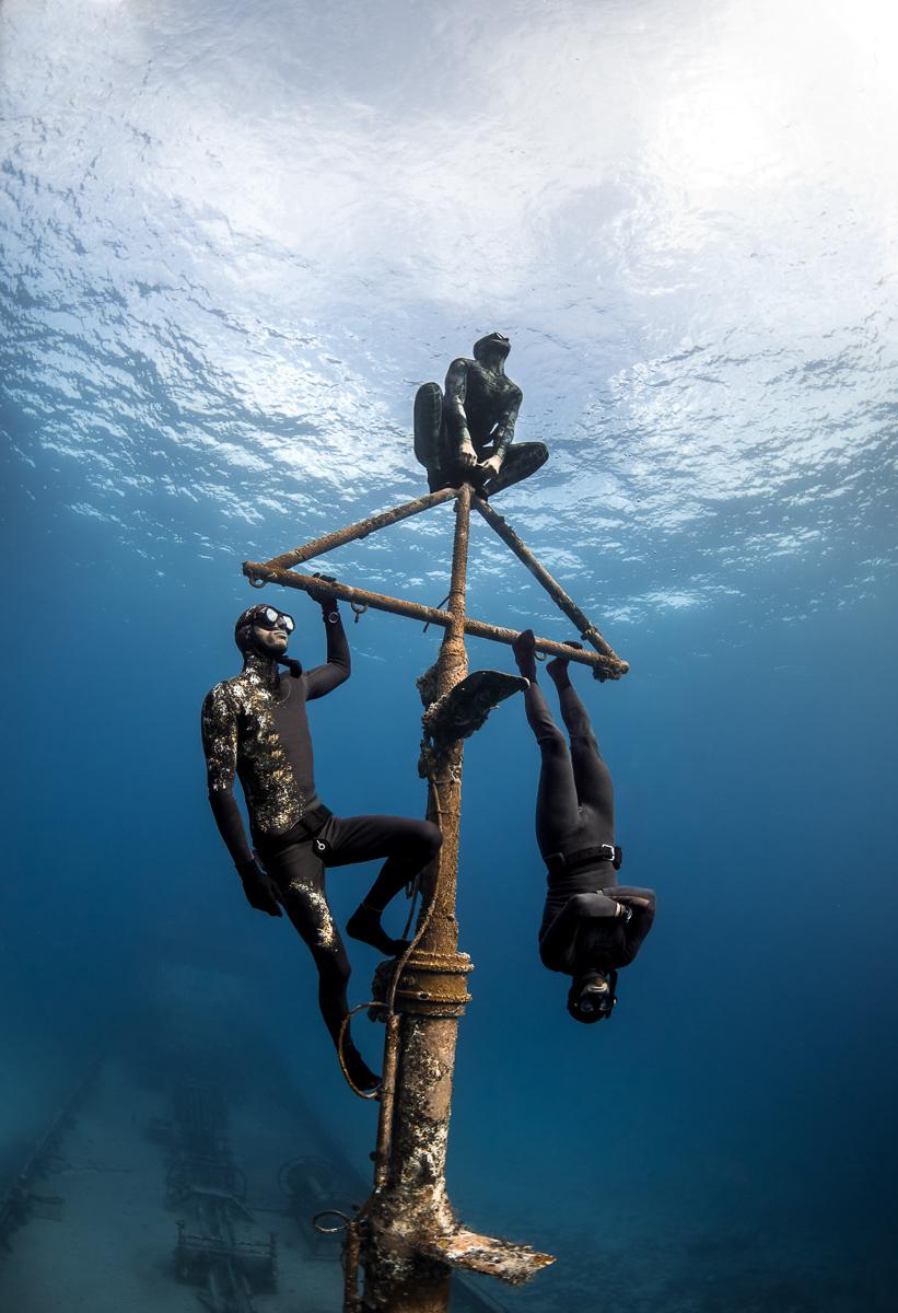 Freediving Underwater Superheroes in Nassau Bahamas (c) André Musgrove.jpg.jpg