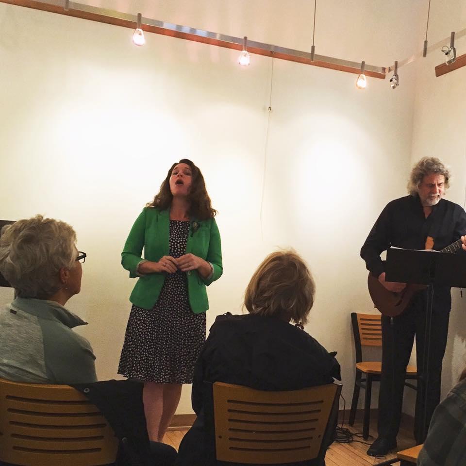 Marie McManama & Tom Kastle  Images by Cheryl Morrison-Weeks