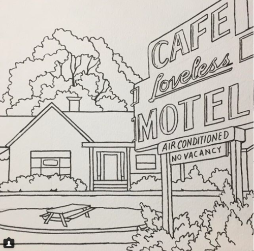 The Nashville Coloring Book — Caleb Faires Art and Illustration
