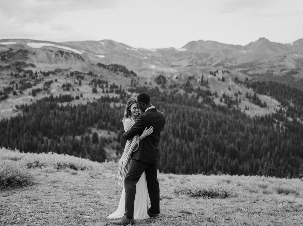 Loveland Pass Elopement, Colorado