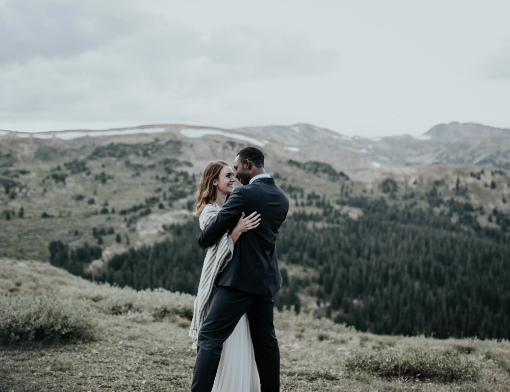 Loveland Pass wedding