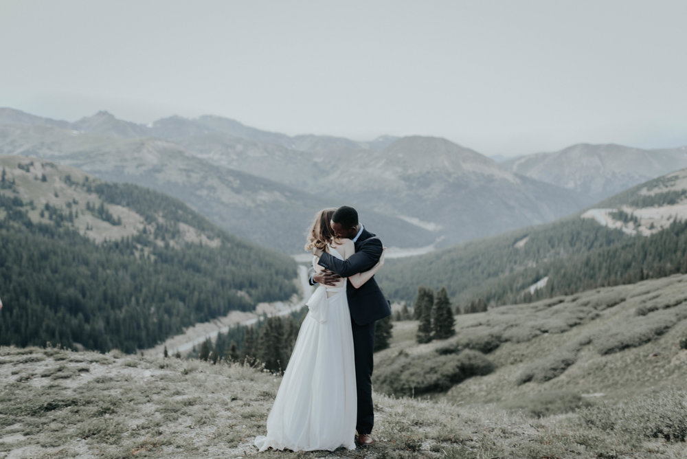 Loveland Pass Elopement in Colorado