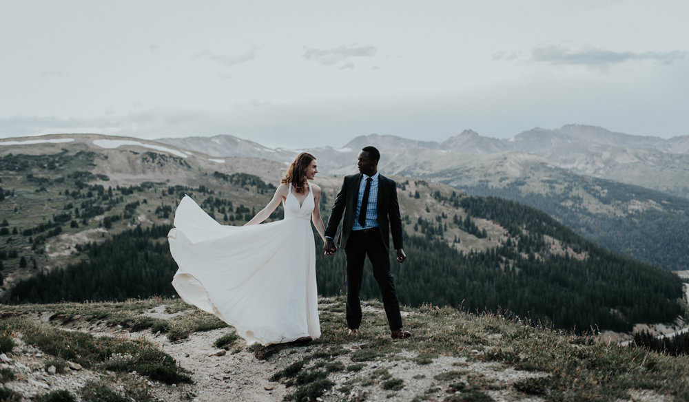 Copper Mountain, Colorado wedding photographer