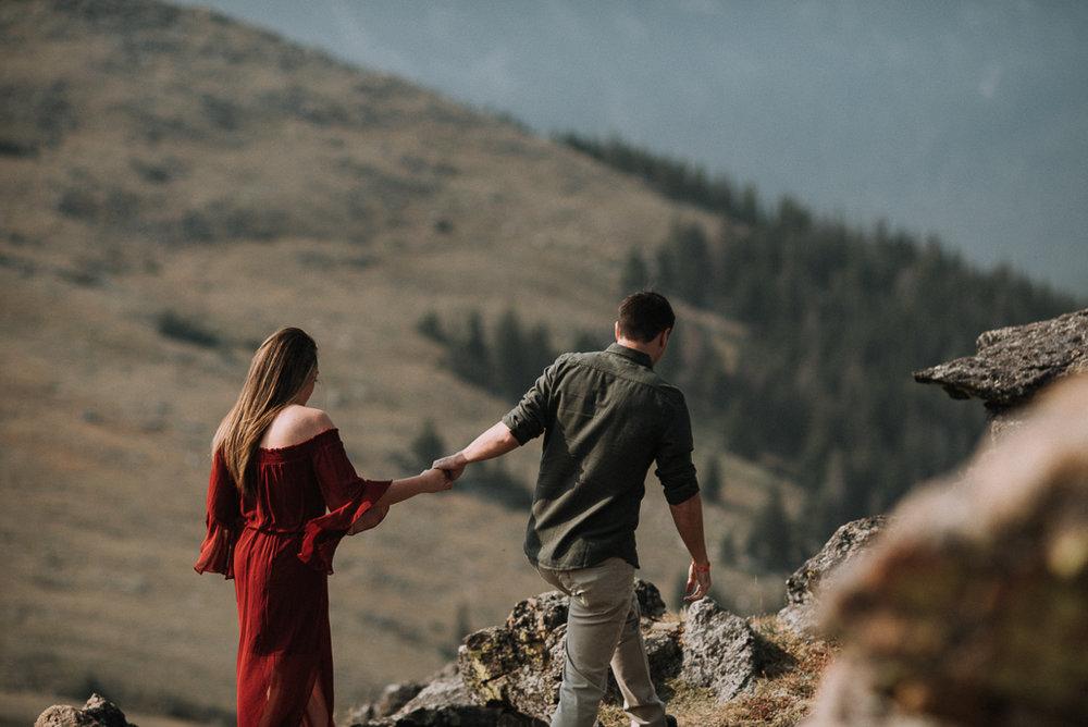 Trail Ridge Road, RMNP elopement photographer
