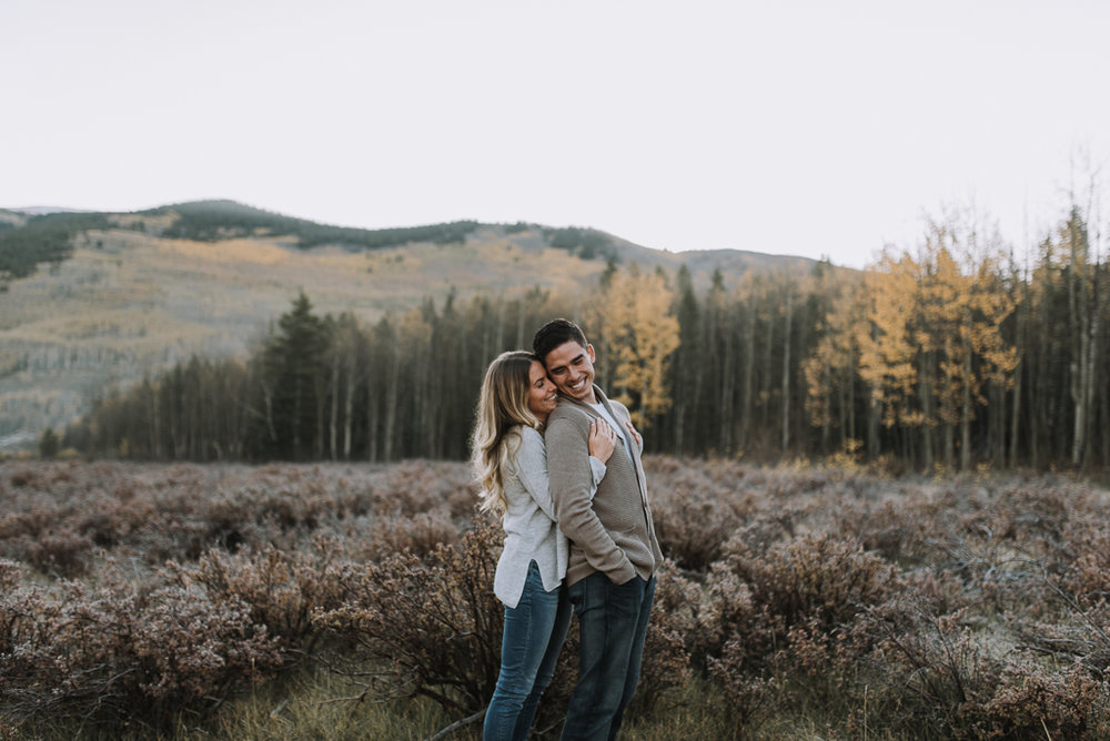 Kenosha Pass elopement photographer in Colorado