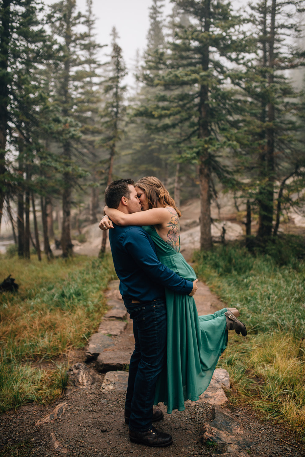 Denver, Colorado wedding photographer. Rocky Mountain National Park elopement photographer.
