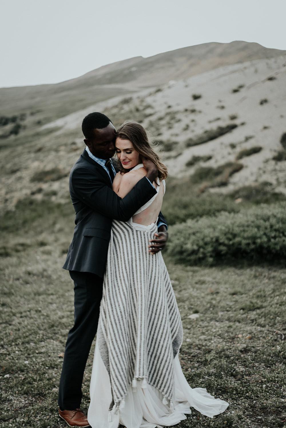 Loveland Pass, Colorado elopement.